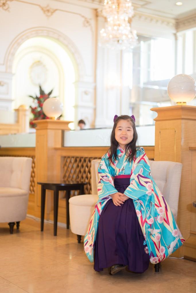 横浜、港北ニュータウンの出張撮影のSAIAI 卒園式 袴のサンプル